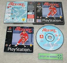NHL FACE OFF 97-juego PS1 PS2 PS3 Playstation One-Pal Completa