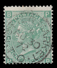 SG117 1s. Pl. 6 with Butler Market circular date stamp. E1093