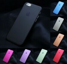 New Slim Transparent Hard Matte PC Back Cover Case for Apple iPhone 5S 6 6 Plus