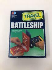 Vintage 1989 Travel Battleship Game Milton Bradley Brand New In Box