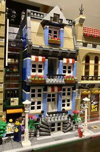 Lego Custom Modular Building Town House Like 10251 10246 10197 city MOC 603