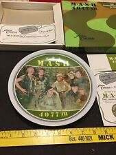 Vintage M*A*S*H 4077th Commemorative Plate 1983. Mint With Box And Certificate