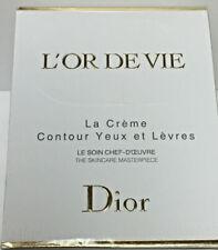 Dior L'Or de Vie La crème contour yeux et lèvres Eye&lip Cream 0.5oz/15ml New