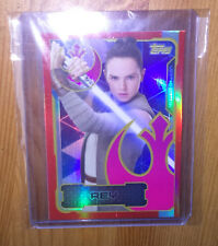 Topps Star Wars Journey To The Last Jedi: LESA Rey Limited Edition Card