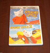 Stuart Little-Stuart Little 2 Double Feature (DVD, 2013) GREAT LIKE DISNEY DVD