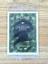 2004 Lemony Snicket Series Unfortunate Events Movie Promo Cards Pack Jim Carrey