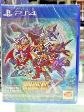 SUPER ROBOT WARS X PS4 ASIA ENGLISH NEW SEALED PAL & NTSC COMPATIBLE REGION FREE