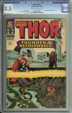 THOR #130 CGC 8.5 CR/OW PAGES