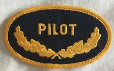 Navy Pilot Oval Scrambled Eggs Embroidered Military Patch