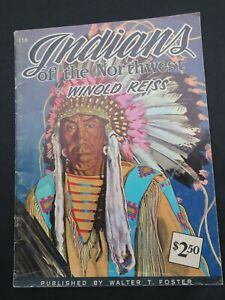 Indians of the Northwest - Weinhold Reiss – Walter Foster Drawing Book