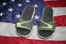 SKECHERS ON-THE-GO Gray Flip Flop Sandal Shoe Siz 9: athletic/casual/sport #4779