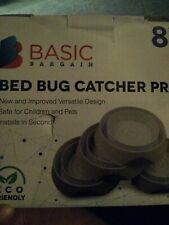 Trap bed bugs Bed Bug Interceptors Bed Bug Traps 8 Pack White Nib Pro catcher
