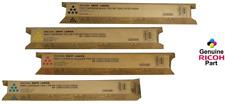 Genuine Ricoh Savin Lanier Toner Set K, M,C,Y MP C5501 MP C4501