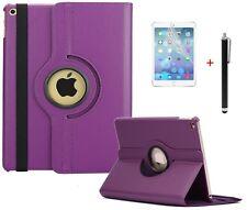 Case f Apple iPad Air 2 360° Schutzhülle Tasche Leder-Imitat Etui violett lila