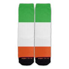 Function - St. Patrick's Day Irish Flag Fashion Socks Clover leaf shamrock luck
