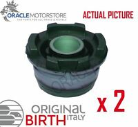 2 x BIRTH FRONT AXLE BEAM MOUNTING BUSHES GENUINE OE QUALITY - 51273