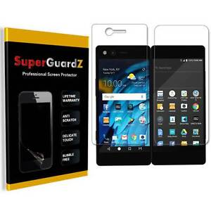 4-PACK SuperGuardZ® Clear Screen Protector Guard Shield Film For ZTE Axon M