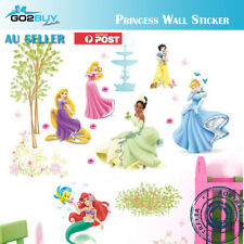 Wall Stickers Disney Princess Girl Removable Kids Girl Room Decal