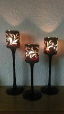Partylite Forbidden Fruits Vine Trio Votive Candle Holders.set of 3