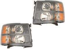 TIFFIN ALLEGRO 2013 2014 2015 HEADLIGHT BLACK HEAD LIGHT FRONT LAMP RV NEW - SET