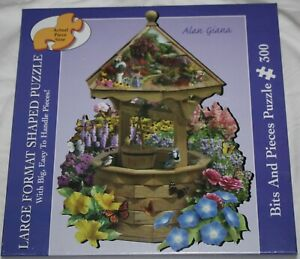 Bits And Pieces Puzzle The Wishing Well by Alan Giana 300 Pieces-New~Sealed 2006