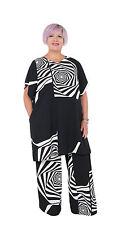 SALE! XENIA DESIGN Womens' 'Lipe' Black& White Tunic-Dress XXXL RRP £189.99