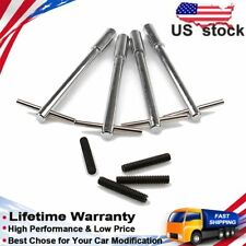 "4pcs Chrome Steel 5//16/""-18 x1-3//8/"" Stud Valve Cover Wing Nut Bolt Ford Pontiac"