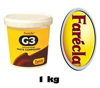 Farecla G3 Rubbing Compound Regular Cutting Paste 1kg Tub 1000g Car Refinishing