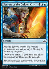 MTG SECRETS OF THE GOLDEN CITY FOIL ITALIAN EXC SEGRETI DELLA CITTÀ DORATA