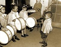 """1938 African American Tiny Tot's Band Vintage Old Photo 8.5"""" x 11"""" Reprint"""