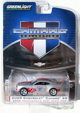 GREENLIGHT CAMARO COLLECTION S 1 2009 CAMARO SS INDIANAPOLIS 500 PACE CAR