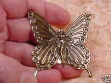 (B-But-351) Butterfly fairy lady I love butterflies pixie fairies pin pendant
