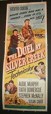 THE DUEL AT SILVER CREEK - AUDIE MURPHY ORIGINAL 1952 RELEASE!