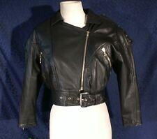 Vintage Soft Black Leather HARLEY DAVIDSON Jacket 32
