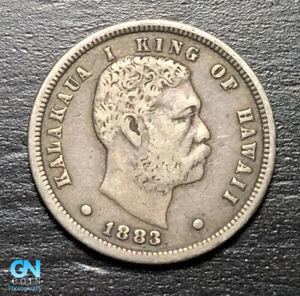 1883 Hawaii Dime   --  MAKE US AN OFFER!  #B7685
