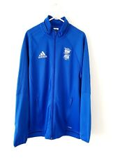 Birmingham City Track Top Jacket. Medium. Official Adidas. Blue Adults Football