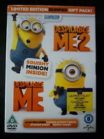 Despicable Me 1 & 2 plus Squishy minion Limited Edition - New & Sealed