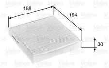 VALEO Filtro, aire habitáculo FIAT PANDA 500 CHRYSLER LANCIA YPSILON 715755