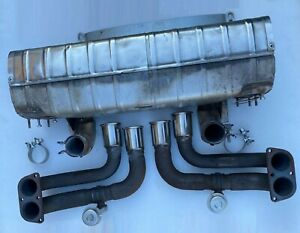 Ferrari 360 Endschalldämpfer 174089 complete exhaust silencer 178769 178770 pipe