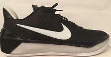 SZ.8 Nike Kobe A.D. 852425-001 Black/WhiteBlack