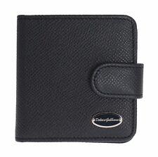 NEW $250 DOLCE & GABBANA Condom Case Holder Pocket Wallet Blue Dauphine Leather