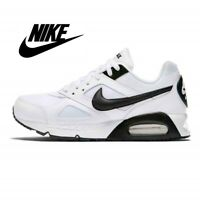 ⚫⚫ Genuine Nike Air Max Ivo Leather Men's Trainers (UK 6 - 12) White Black