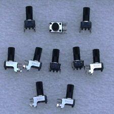 Potentiometer ALPS 49 kOhm Stereo  6er Achse 10 Stück