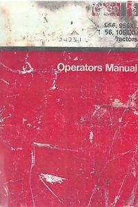 Case IH Tractor 956 956XL 1056 1056XL Operators Manual