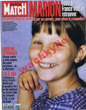 Paris Match n°2495 du 20/03/1997 Marion Agen Caroline Pierre-Jean Rémy TWA 800