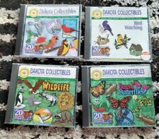 Dakota Collectibles Embroidery Designs Animals and Insects Designs 4 Cd Lot