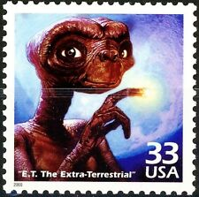 E.T. the Extra-Terrestrial Scarce Mint MNH US Postage Stamp Scott's 3190M