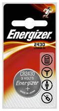 Batterie monouso Energizer per articoli audio e video CR2430