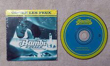 "CD AUDIO MUSIQUE/ BAMBI CRUZ "" OUVRE LES YEUX"" CDS 1997 2T CARDBOARD SLEEVE"