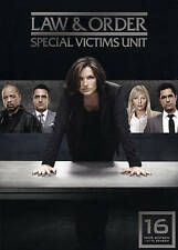Law & And Order SVU - Special Victims Unit : Season (Sixteen) 16 : NEW DVD